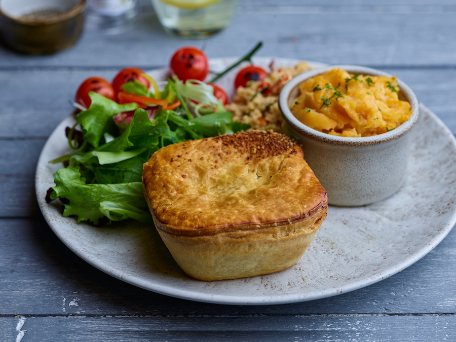 Spinach, Goats Cheese & Sweet Potato Classic Pie (Wholesale)